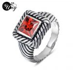 UNY Ring Femme Multi CZ Twisted Cable Wire Rings Designer Fashion Brand David Vintage Love <b>Antique</b> Rings Women <b>Jewelry</b> Ring Gift