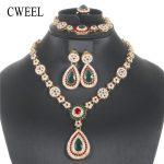 CWEEL <b>Jewelry</b> Sets Vintage Turkish <b>Jewelry</b> For Women African Dubai Wedding Jewellery Set <b>Accessories</b> Indian <b>Jewelry</b> Set