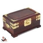 Annatto ring receive a case red rosewood carving <b>jewelry</b> boxes dressing boxes