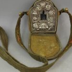 Vintage <b>Jewelry</b> Nepal handmade Vajrasattva six word box supporting accessories Oh GA Rune ornaments