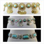 <b>Antique</b> Bohemian Summer Beach Waist Chains Geometric Coins Tassel Belt Link Natural Stone Belly Chains Women Fashion Body Chains