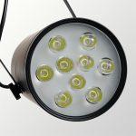 LED Track Light 9W Clothing Store Spotlights Wholesale <b>Jewelry</b> Display Lights Window Backdrop Clothing Showrooms Light Spotlight