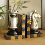 European country creative <b>antique</b> retro <b>jewelry</b> ornaments Home Furnishing chess room became a bookend Bookends