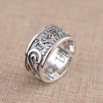 Deer King <b>jewelry</b> wholesale silver ring S925 Sterling Silver Silver <b>Antique</b> Style six words.