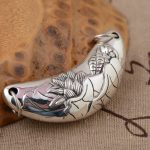Deer king S925 sterling silver pendant <b>jewelry</b> wholesale silver <b>antique</b> style female exquisite pendant NEW