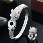 Blucome Luxury Brand leopard Animal Bangle for Men <b>Accessories</b> Perfect Cubic Zirconia Wedding <b>Jewelry</b> Women Bracelet&bangles