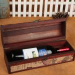 Vintage Style Make Up Wine Box Portable Leather Wine Boxes <b>Antique</b> Premium Red Wine Gift Box <b>Antique</b> <b>Jewelry</b> Storage Gift Boxes