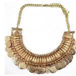 Retro vintage <b>antique</b> <b>jewelry</b> coin necklace tribal egypt gypsy steampunk statement gargantilha maxi colar cigano/collier femme