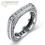 Solid Silver Sterling 925 Rings for Women <b>Antique</b> Silver Square Finger Ring Cubic Zirconia <b>Jewelry</b> Wedding Accessories Anel
