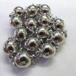 High Quality 50pcs 6 8 10mm BRASS Magic Clasp Connectors brass Magnetic Clasps round ball gunmetal <b>antique</b> silver <b>jewelry</b> clasp