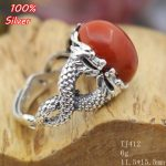 100% 925 Sterling Silver Double Dragon Fitting <b>Jewelry</b> Adjustable Oavl Ring Blank Fit 10*13MM Setting Tray <b>Antique</b> Silver Plate