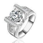 <b>Antique</b> Luxury Knuckle Rings For Women Aneis Zircon <b>Jewelry</b> Wedding Bague 585 White Gold Color Vintage Anillos Anel QQ145