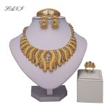 Fani Dubai Gold Colorful crystal <b>Jewelry</b> Sets Women customer Fashion African Beads <b>Jewelry</b> Set Wholesale bridal <b>Accessories</b>