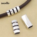 SAUVOO 10pcs/lot Alloy Hollow Long Tube Beads Hole 8*10mm <b>Antique</b> Silver Color Bracelet Charms DIY <b>Jewelry</b> Finding Suppliers