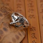 Deer King <b>jewelry</b> wholesale silver S925 silver ring <b>antique</b> technology key other explosion gift