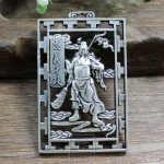 Do the old <b>antique</b> collection exquisite <b>jewelry</b> carved pendant brand loyalty Qiangiu hollow copper Gong