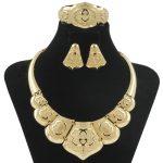 2018 Africa High Quality Bridal Charm Bead Necklace Bracelet <b>Jewelry</b> <b>Accessories</b> Fashion Women Italy Wedding Party <b>Jewelry</b> Sets