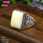 100% sterling silver 925 <b>jewelry</b> 12*17/13*21mm Adjustable Ring Blank Tray Setting Square Stone <b>Antique</b> Silver Classical