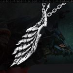 Mens Vintage Necklaces Gothic 925 Silver Dragon Claw Pendant Necklace MONSTER HUNTER WORLD Man Bike Hiphop <b>Jewelry</b> <b>Accessories</b>