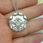 <b>Art</b> <b>Deco</b> Pendant Daisy Charm Necklaces Antique Silver Plated Necklace Simple Fashion Rustic <b>Jewelry</b> Bohemian <b>Jewelry</b>