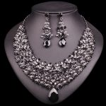 Necklace Earring Sets Vintage Bridal <b>Jewelry</b> Sets & More Rhinestone Party Wedding Costume <b>Accessories</b> Decoration Bride Women