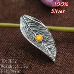 NEW 100% Sterling-Silver-<b>Jewelry</b> Leaves Vintage Pendents For women Blank 7*7mm Round Shape Base Tray Diy <b>Jewelry</b> <b>Accessories</b>