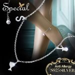 Special Brand Fashion 925 Sterling Silver Anklets <b>Accessories</b> AAA Zirconia Ankle Bracelets Foot <b>Jewelry</b> Gifts for Women S1603A