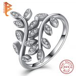 Crystal Rings Silver 925 Sterling <b>Jewelry</b> Women Rings Flower Silver Femme Engagement Ring <b>Accessories</b>