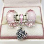 3pcs Fashion S925 Silver Pink Series Pendant Charms Bead <b>Jewelry</b> Set Fit DIY Bracelets Necklaces <b>Jewelry</b> <b>Making</b> Woman Gift