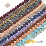 10mm coin shape crude beads dyed from raw Amethysts metallic titanium coated loose bead for <b>jewelry</b> <b>making</b> srand 8″ wholesale