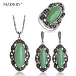 Vintage <b>Jewelry</b> Sets Necklace &Earrings &Ring Semi Precious Stone Turkish red <b>jewelry</b> <b>make</b> you looks like thin Collares joyeria
