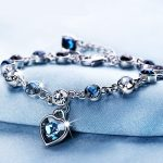 Luxury Fashion AAAA Crystal Bracelet Charm Bride Wedding Anniversary Commemorate Gift <b>Supply</b> Exquisite <b>Jewelry</b> Packaging