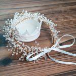 1pc/lot Bridal Crystal Hair Accessories For Women Headband hair band barrettes Crown Handmade Fairy Headpiece Parting <b>Jewelry</b>