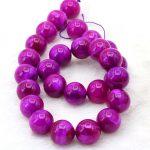 "Heat Girl gift Sugilite Stone 14mm Round loose beads DIY Manual Accessories Design <b>make</b> bracelets necklace women <b>jewelry</b> 15"""