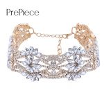 Prepiece Fasgion Luxury CZ Crystal Choker Necklace Women Clothing <b>Accessories</b> Party Wedding <b>Jewelry</b> Gifts for Girls Colar PN1084