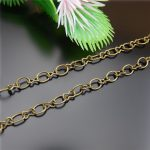 Vintage Retro Style Chain Long chain Women And Men <b>Antique</b> Bronze Plated Copper Rope Bracelet Statement Chains