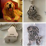 Handmade custom dog <b>necklace</b> cat <b>necklace</b> Photo custom pet <b>necklace</b> jewelry 925 sterling <b>silver</b> <b>Necklace</b> for birthday gift