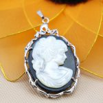 L051 Hot Sale! Fashion abalone seashells crafts head portrait pendant accessories,Fit beautiful women <b>jewelry</b> DIY <b>making</b>