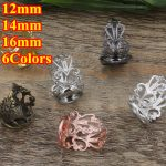 100pc Cabochon 12mm,14mm,16mm Round Pad ring blank Cameo Tray,Bronze/Gold/Silver Ring setting,<b>Handmade</b> DIY Zakka <b>jewelry</b> Finding