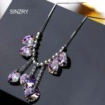 SINZRY crystal <b>Jewelry</b> <b>handmade</b> heart love crystal chokers necklaces 925 sterling silver austria crystal <b>jewelry</b> women gift