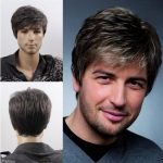 <b>Fashion</b> sexy Men's man Short gray Cosplay Natural Hair Wigs LY&CS Cheap sale dancing party cosplays