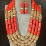 Fantastic <b>Wedding</b> Coral Beads African <b>Jewelry</b> Sets New New Dubai Bridal <b>Jewelry</b> Set Gift Free Shipping CNR692
