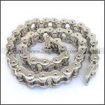 605mm Unique Men Stainless Steel Hip Hop Motor Biker Chain Link <b>Necklace</b> <b>Silver</b> Tone Iced Out Punk <b>Necklaces</b> Mens pendant