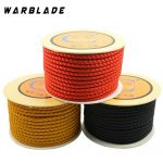 4mm Cotton Cord Nylon Thread Chinese Knot Macrame Cord Plastic String Beaded Rope For DIY Bracelet Necklace <b>Jewelry</b> <b>Making</b> 18M