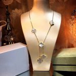 Brand Pure 925 <b>Sterling</b> <b>Silver</b> <b>Jewelry</b> For Women Rose Gold Color Necklace Mother Shell Pearl Clover <b>Jewelry</b> 6 Flower Pendants