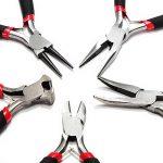 5pcs <b>Jewelry</b> <b>Making</b> Jewellery Pliers Equipment Jewel Tools Stainless DIY Tool–M25