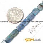 Kyanite: 6x8mm Rectangle Blue Genuine Kyanite Beads Natural Stone Beads DIY Beads For <b>Jewelry</b> <b>Making</b> Strand 15″ Free Shippiing