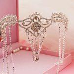 Headpiece Bridal Tiara Rhinestone Crystal Hair Crown Vintage Wedding Head <b>Jewelry</b> Accessories forehead headbands Frontlet