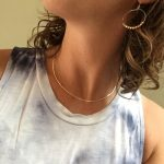 PINJEAS Thin hammered Minimalism choker <b>handmade</b> curved necklace fashion <b>jewelry</b> presents for women bridesmaid Birthday