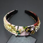 New Arrival Baroque Headband Hairband Colorful Flowers hand made cute vintage <b>jewelry</b> 670